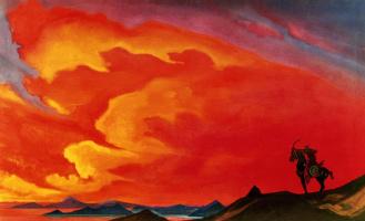 Nicholas Roerich. Gessar Khan