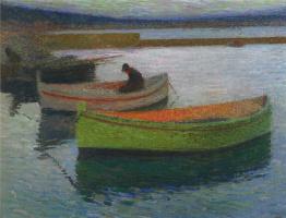 Henri Marten. Fishing boats
