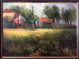 Наталья Гивиевна Калиашвили. Сельский пейзаж