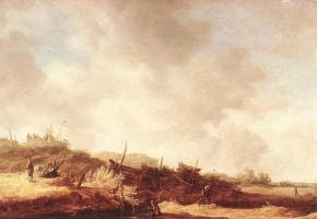 Jan van Goyen. Landscape with dunes