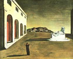 Джорджо де Кирико. Статуя