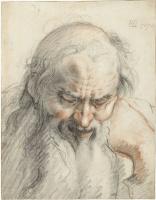 Хендрик Гольциус. Бюст старика. 1610