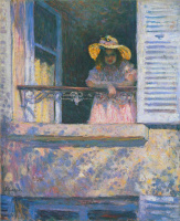 Анри Лебаск. Девушка в окне