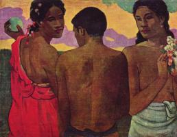 Поль Гоген. Трое таитян