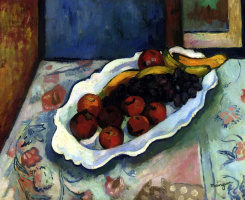 Henri Manguin. A plate of apples