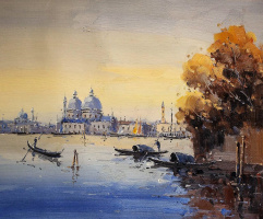 Andrew Shararin. Dreams of Venice N13