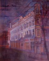 Sofia Rychanova. The evening light