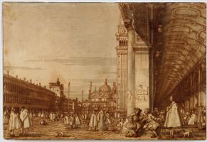 Джованни Антонио Каналь (Каналетто). Площадь Святого Марка