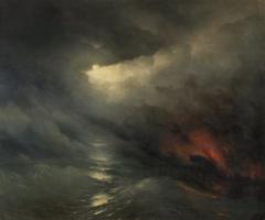 Ivan Aivazovsky. The creation of the world