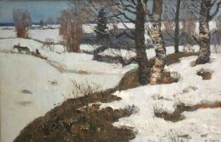 БучкинДмитрий Петрович Д. родился 23 июня 1927 года в Ленинграде, сын известного художника и педагога Петра Дмитриевича Бучкина.. Ранняя зима