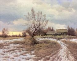 Vasily Ivanovich Gribennikov. Evening. March