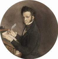 Константин Андреевич Сомов. Портрет Пушкина