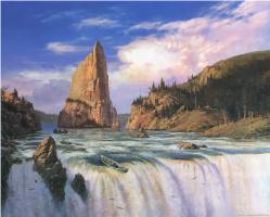 Тед Насмит. Водопад