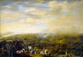Паулус ван Хиллегерт. Битва в Ньюпорте