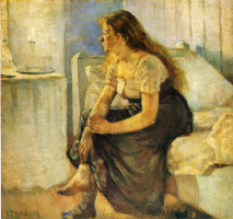 Edvard Munch. Morning