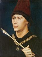 Портрет Антуана Бургундского