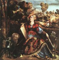 Доссо Досси. Женщина с собакой