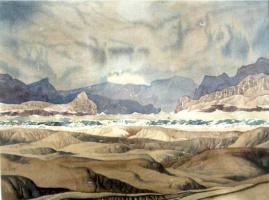 Maximilian Alexandrovich Voloshin. Landscape