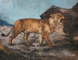 Роза Бонёр. Львица в горах