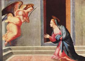 Франческо Граначчи. Благовещение Марии