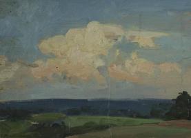 Евгений Иванович Бригадиров. Облака