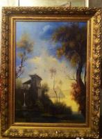 Unknown artist. Dutch landscape