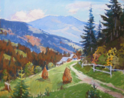 Yosif Josifovich Garani. Road in the mountains