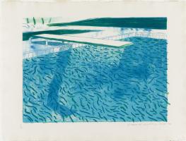 David Hockney. Pool
