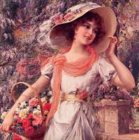 Эмиль Вернон. Цветочная девушка