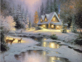 Thomas Kincaid. House in deer Creek