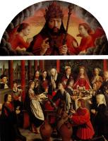 Герард Давид. Благословляющий Бог-Отец