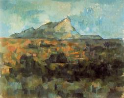 Поль Сезанн. Гора Сент-Виктуар (Гора святой Виктории)