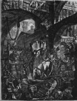 Джованни Баттиста Пиранези. Серия Тюрьмы, лист II
