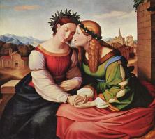 Иоганн Фридрих Овербек. Италия и Германия
