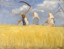 Анна Анкер. Сбор урожая