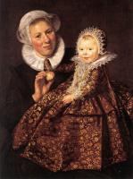 Франс Хальс. Кормилица с ребенком (Катарина Хофт с нянькой)
