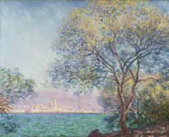 Claude Monet. Antibes in the morning