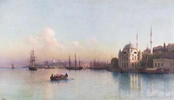 Золотой Рог. Босфор. 1883
