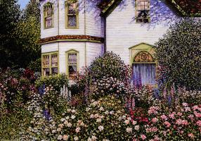 Мэдисон Харт. Уютный дворик 1