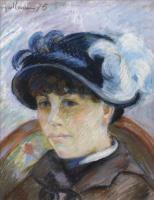Арман Гийомен. Портрет молодой женщины