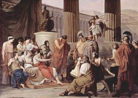 Франческо Айец. Одиссей при дворе Алкиноя
