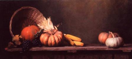 Морин Хайд. Натюрморт с кукурузой