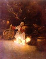 Максфилд Пэрриш. Арабские сказки. Али-Баба и сорок разбойников