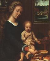 Герард Давид. Мадонна с младенцем