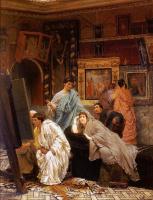 Лоуренс Альма-Тадема. Коллекция картин во времена Августа