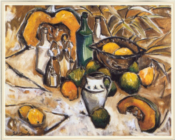 Сильвия Санчес. Натюрморт с фруктами