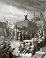 Поль Гюстав Доре. Иллюстрация к Библии: восстановление храма Иерусалимского