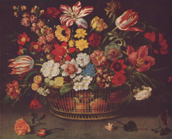 Линар Жак. Корзина с цветами