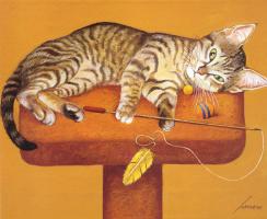 Лоуэлл Эрреро. Игривый кот