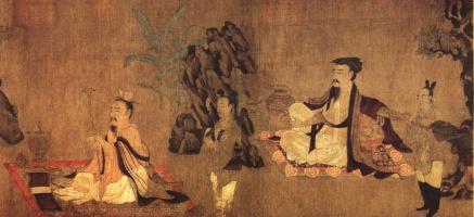 Шунь Вэй. Бытовая сцена 155